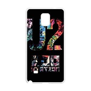 U2 Samsung Galaxy Note 4 Cell Phone Case White yyfabd-334306