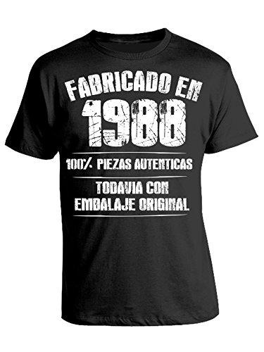 Tshirt Camiseta Fabricado en 1988 100% Piezas autenticas ...