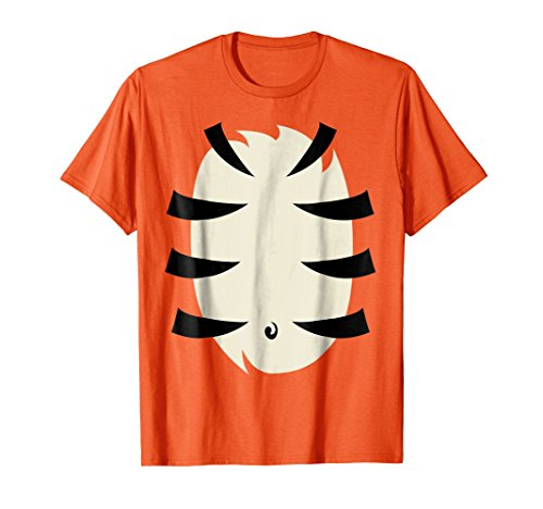 Mens Tiger Costume Shirt Cute Halloween Gift Idea