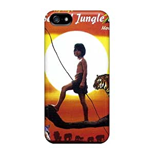 Great Cell-phone Hard Cover For Iphone 5/5s With Allow Personal Design Attractive The Jungle Book Skin KaraPerron