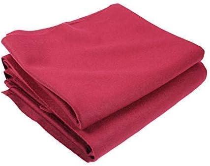 ClubKing Ltd - Tela para mesa de billar (1,82 x 0,91 m), color rojo: Amazon.es: Deportes y aire libre