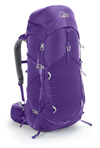 UPC 821468724907, Lowe Alpine Zephyr ND 55 Backpack - Orchid/Quartz