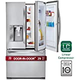 LG LFXS29766S French Door Refrigerator with 29 Cu. Ft. Capacity in Stainless Steel