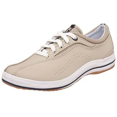 Keds Women's Spirit Leather Sneaker,Stone Leather,9 W