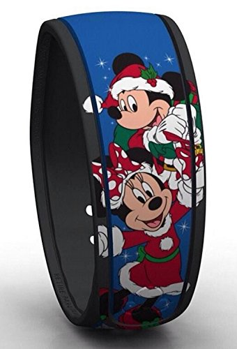 Disney Mickey Minnie Mouse & Tinker Bell Christmas Blue Magic Band Never (Original Tinkerbell Costume)
