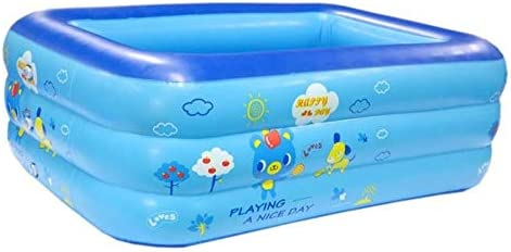MANWEI Piscinas Piscina Inflable para Niños Piscina Inflable para Bebés Piscina Grande De Bolas Oceánicas Engrosamiento Piscina Grande para Adultos, 130 Cm: Amazon.es: Jardín