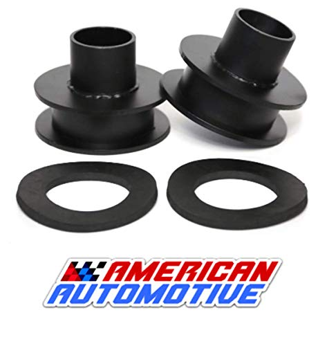 (Ford F250 F350 Superduty Front Leveling Lift Kit 4WD Made in USA 'Road Fury' Carbon Steel Coil Spring Spacers (Set of 2) (2 Inch))