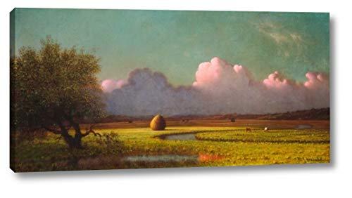 Sunlight and Shadow: The Newbury Marshes by Martin Johnson Heade - 18