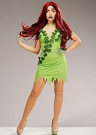 Magic Box Disfraz Verde de Estilo Hiedra venenosa para Mujer XS ...