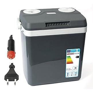 Dino KRAFTPAKET 131001 Kühlbox 12V 230V (WÄRMT & KÜHLT) HÖHE: 44cm GRÖSSE: 32-Liter (28L netto) Elektrische Kühlbox für Auto Boot Camping, A++ mit ECO-Modus 13