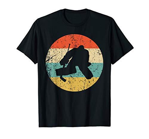 Hockey Vintage Retro Hockey Goalie T-Shirt