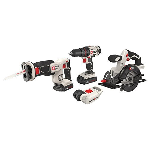 PORTER-CABLE  PCCK616L4  20V MAX Lithium Ion 4-Tool Combo Kit by PORTER-CABLE