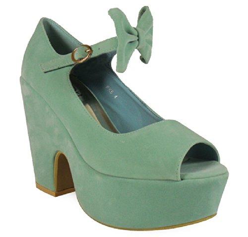 Loud Look - zapatos mujer Verde - verde menta