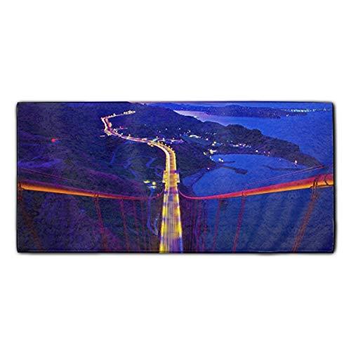 Bridge Polyester Luxury Hotel & Spa Bath Towel, Bath Towel
