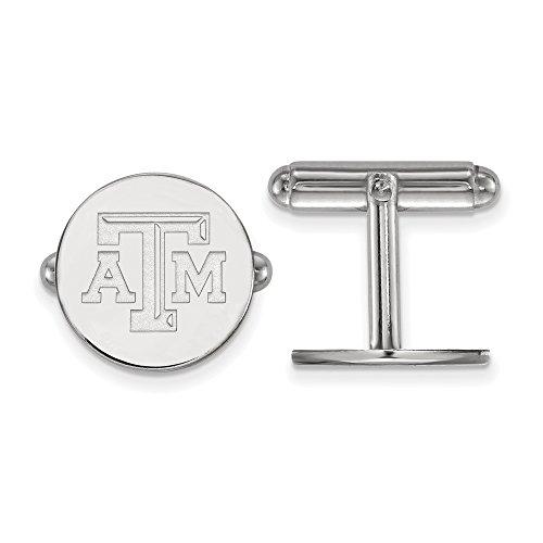 University Sterling Silver Cufflinks (Texas A&M Cuff Links (Sterling Silver))