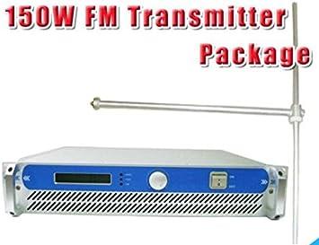 GOWE 150 W transmisor de Radio FM + FU-DV1 FM antena dipolo + ...