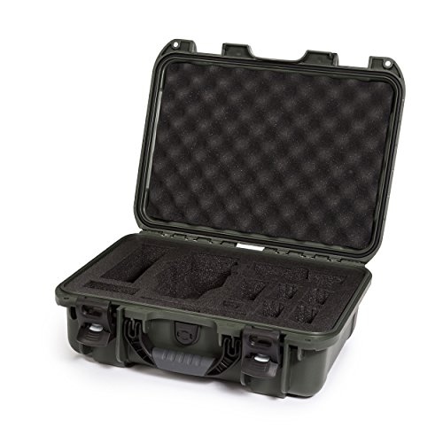 Nanuk DJI Drone Waterproof Hard Case with Custom Foam Insert for DJI Mavic PRO - Olive