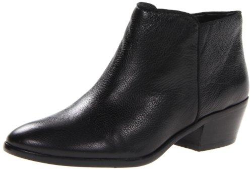 Sam Edelman Damen Petty Ankle Boot Schwarzes Vintage Kalbsleder