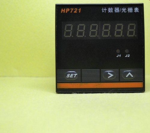 6 electronic counter counter display reversible industrial intelligent meter grating table 72*72 HP721