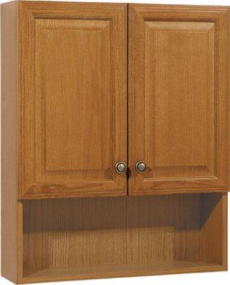 rsi home products cbtts oa aluminum oak bath storage cabinet 23 rh amazon com  rsi home products unfinished oak cabinets