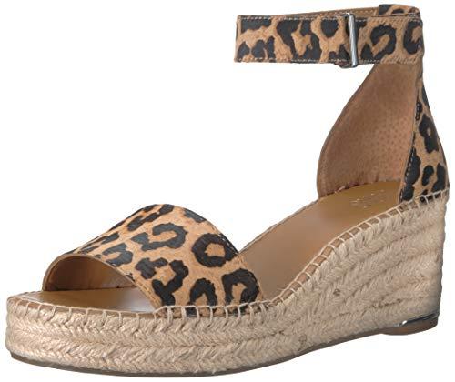- Franco Sarto Women's Clemens Espadrille Wedge Sandal Camel 9.5 M US