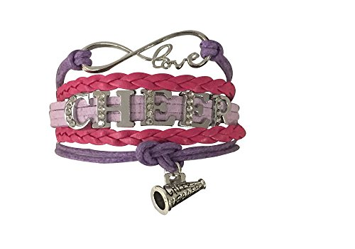 Infinity Collection Cheer Bracelet- Cheerleading Bracelet- Cheer Jewelry - Rhinestone Cheerleading Bracelet for Cheerleader