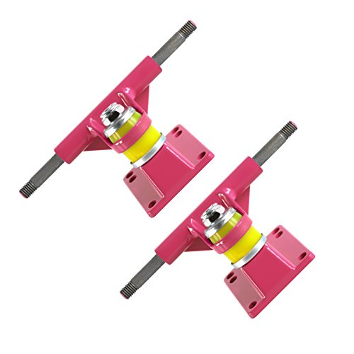 Skateboard Pink Trucks High Grade Set Of 2 (Skateboard Trucks Pink)