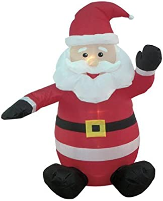 BZB Goods - Pata Hinchable de Navidad con diseño de Papá Noel de ...