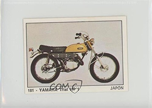 Yamaha Trial HT 1 (Trading Card) 1972-73 Panini Moto 2000 Album Sickers - [Base] #181 - Bases Yamaha