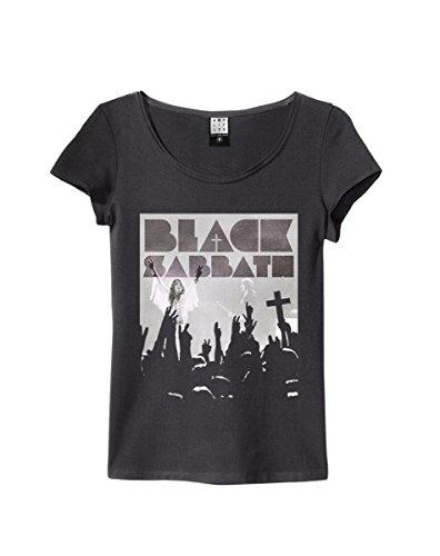 Amplified ufficiale–Black Sabbath–Vittoria–Girocollo T shirt da donna