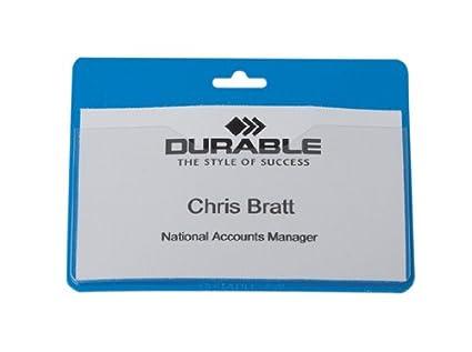 Durable 999108003 - Fundas para tarjeta identificativa (50 ...