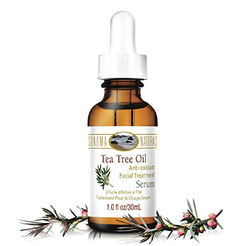 Sonoma Naturals Tea Tree Oil Serum for Face, 1 oz | Acne & D