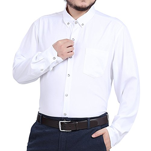 3xl white dress shirt - 8