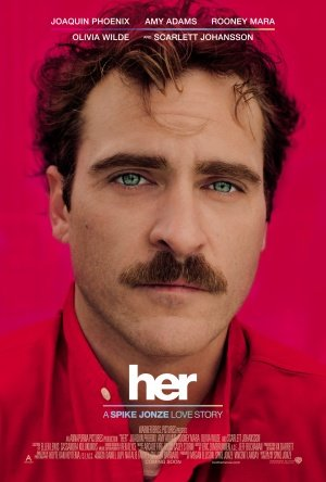HER - JOAQUIN PHOENIX - Imported Movie Wall Poster Print - 30CM X ...