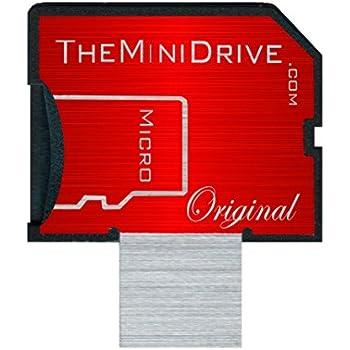 The MiniDrive   microSD Adaptor   MacBook Air/Retina/Pro