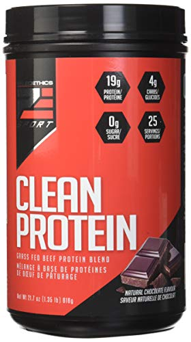 PALEOETHICS PE Sport Clean Protein, Natural Chocolate Flavor, 21.7 Ounce (25 Servings)