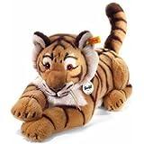 Steiff 064463 - Radjah Tiger, blond gestreift, 45 cm