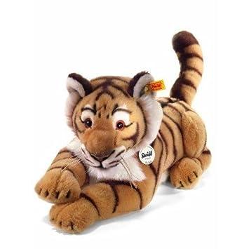 Steiff 064463 Rajah - Tigre rayado de peluche (45 cm) [Importado de Alemania]