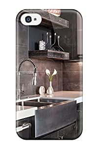 John Ramsey Fashion Protective Modern Farmhouse Sink In Industrial Kitchen Case Cover For Iphone 4/4s