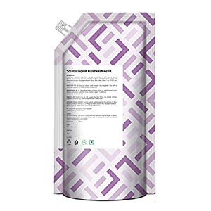 Amazon Brand – Solimo Handwash Liquid Refill, Lavender – 750 ml