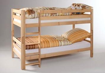 Etagenbett Nischenhöhe : Erst holz etagenbett für erwachsene kiefer rollrosten