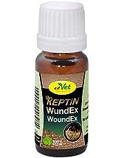 cdVet Naturprodukte REPTIN WundEx 10 ml - Reptilien - natürliches Pflegemittel - Versorgung wundgeplagter Hautstellen - natürlicher Mineralien-Öl Komplex - Hautverträglich -