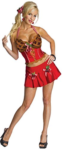 Secret Wishes Womens Cherry Pie Costume, Multicolor, -