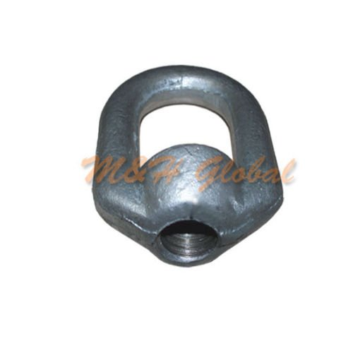 5 PCS Forged Eye Nut 1//2 Bail 5//8 Tap Thread Drop Forged Galvanized Steel