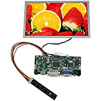 NJYTouch Raspberry Pi 8.9 inch N089L6-L03 1024600 LCD Display Screen TFT Monitor with HDMI VGA Controller Board