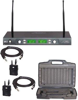 Audio2000's Awm6547Dug Dual Guitar Wireless Microphone System