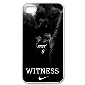 Fantasyhome (TM) Miami Heat star LeBron James Iphone 5 5s Hard Cover Case + Free Wristband Accessory