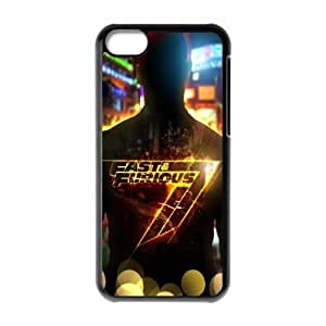 Furious 7 FG0020962 Phone Back Case Customized Art Print Design Hard Shell Protection Iphone 5C