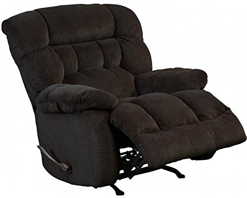 - 4765-5-1622-09 (Chocolate) Catnapper Daly Chaise Swivel Glider Recliner. Free Curbside Delivery.