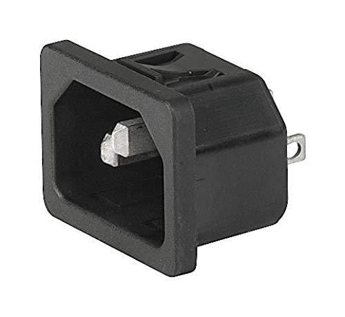 250V 10A 6100.4110 SCHURTER IEC Appliance Inlet C14 Connector